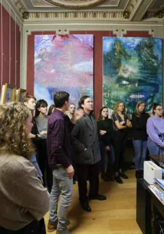 The Bruges Art_Institute visit PXL Mad